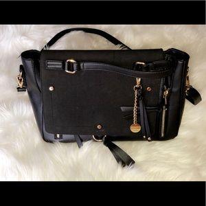 ALDO Vegan Leather Gold Hardware Shoulder Bag